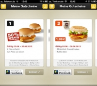 mobile couponing mcdonalds