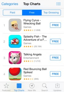 Rankings Top Lists app store